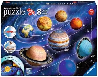 3D puzle Ravensburger Solar System 11668, 522 gab.