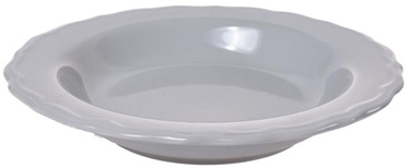 Bradley Julia Ceramic Plate 23cm Gray 12pcs