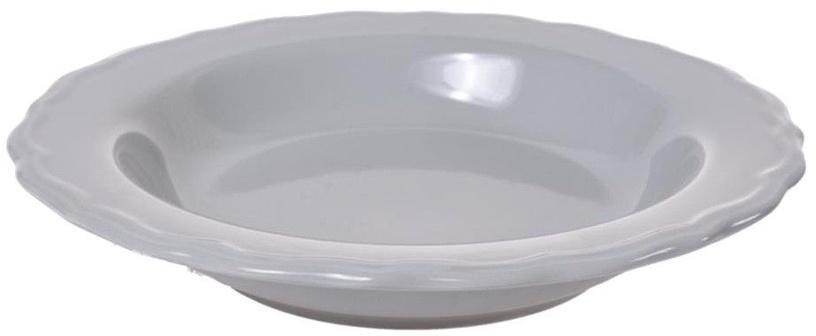 Bradley Julia Ceramic Plate 23cm Gray 12pcs