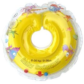 Piepūšams riņķis Baby Swimmer Neckring, dzeltena, 400 mm