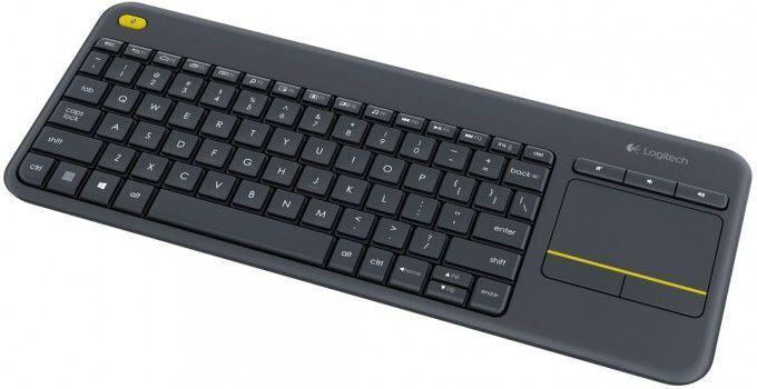 Logitech Wireless Touch Keyboard K400 Plus RU Dark (поврежденная упаковка)