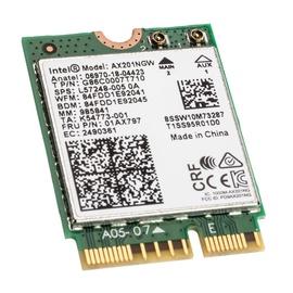 Bezvadu tīkla adapteris (Wireless) Intel Wi-Fi 6 AX201 vPro