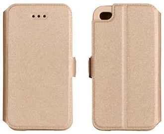 Telone Super Slim Shine Book Case Apple iPhone 6 Plus Gold