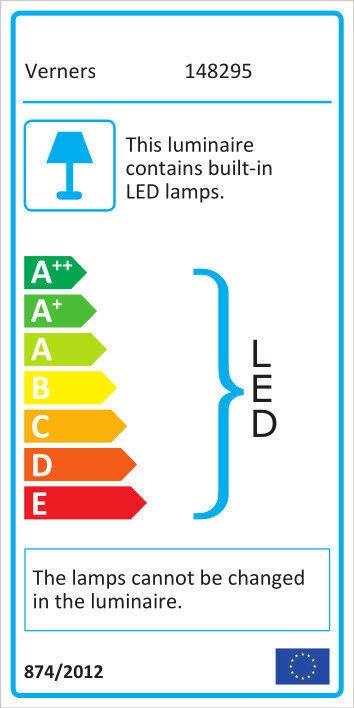 Verners Bloom 30W LED Chrome (поврежденная упаковка)