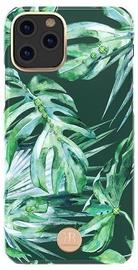 Kingxbar Blossom Back Case For Apple iPhone 11 Pro Leaf