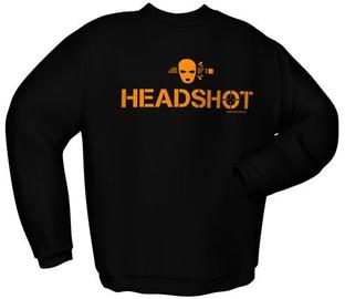 GamersWear Headshot Sweater Black S