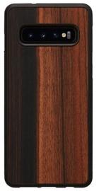 Man&Wood Ebony Back Case For Samsung Galaxy S10 Black