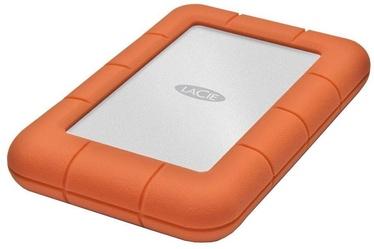 Cietais disks Lacie Rugged, HDD, 5 TB, oranža