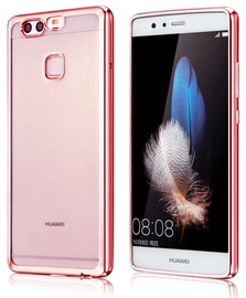 Hurtel Metalic Slim Back Case For Huawei P10 Pink