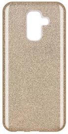 Wozinsky Glitter Shining Back Case For Samsung Galaxy A6 Plus Gold
