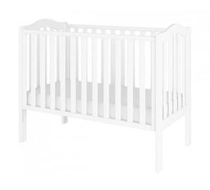 Bērnu gulta Bellamy Wave White, 125x68 cm