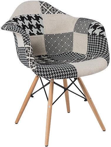 Кресло Signal Meble Denis B Multicolor, 64x46x80 см