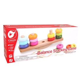 Rotaļlieta Classic World Wooden Balance Stacking 3537