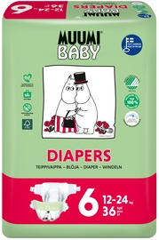 Muumi Baby Diapers No. 6, 36pcs