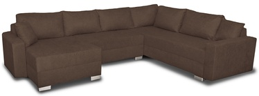 Stūra dīvāns Platan Gustaw Soro 28 Brown, 315 x 135 x 87 cm