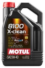 Motoreļļa Motul X-Clean 5W - 40, sintētiskais, vieglajam auto, 4 l
