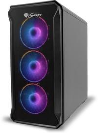 Корпус Genesis IRID 503 ARGB mATX Micro Tower Black