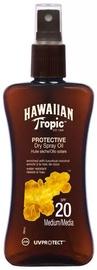 Sprejs saules aizsardzībai Hawaiian Tropic Protective Dry Oil SPF20, 200 ml