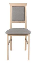 Ēdamistabas krēsls Black Red White Allanis 2 Grey, 1 gab.