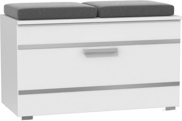 Top E Shop Opal Shoe Cabinet White