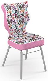 Bērnu krēsls Entelo Solo Size 4 ST31 Pink/Butterflies, 370x340x775 mm