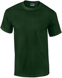 T-krekls Gildan Cotton T-Shirt Green M