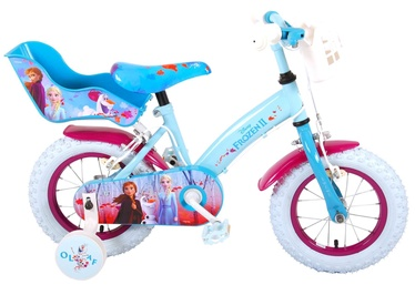 "Bērnu velosipēds Volare Disney Frozen II 91250, zila/violeta, 12"""