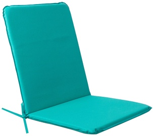 Krēslu spilvens Home4you, zila, 90x43 cm