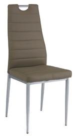 Ēdamistabas krēsls Signal Meble H260 Dark Beige, 1 gab.