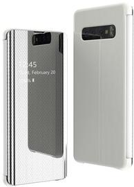 Hurtel Flip View Cover For Samsung Galaxy S10e Silver