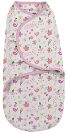 Summer Infant SwaddleMe Original Swaddle Small Flowers & Butterflies