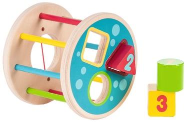 Izglītojošās rotaļlietas Gerardos Toys Wooden Shape Sorter 39269