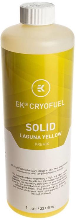 EK Water Blocks EK-CryoFuel Solid Laguna Yellow (Premix 1000mL)
