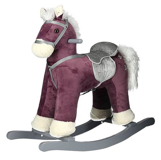 Milly Mally Rocking Horse PePe Dark Purple