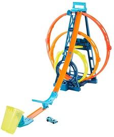 Mattel Hot Wheels Track Builder Unlimited Triple Loop Kit