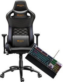 Canyon Gaming Chair Nightfall GС-7 + Canyon Nightfall Mechanical Gaming Keyboard