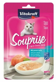 Vitakraft Souprise Cat Snacks w/ Salmon 4x20g