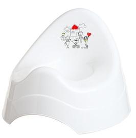Maltex Chamber Pot With Music Family White 5818
