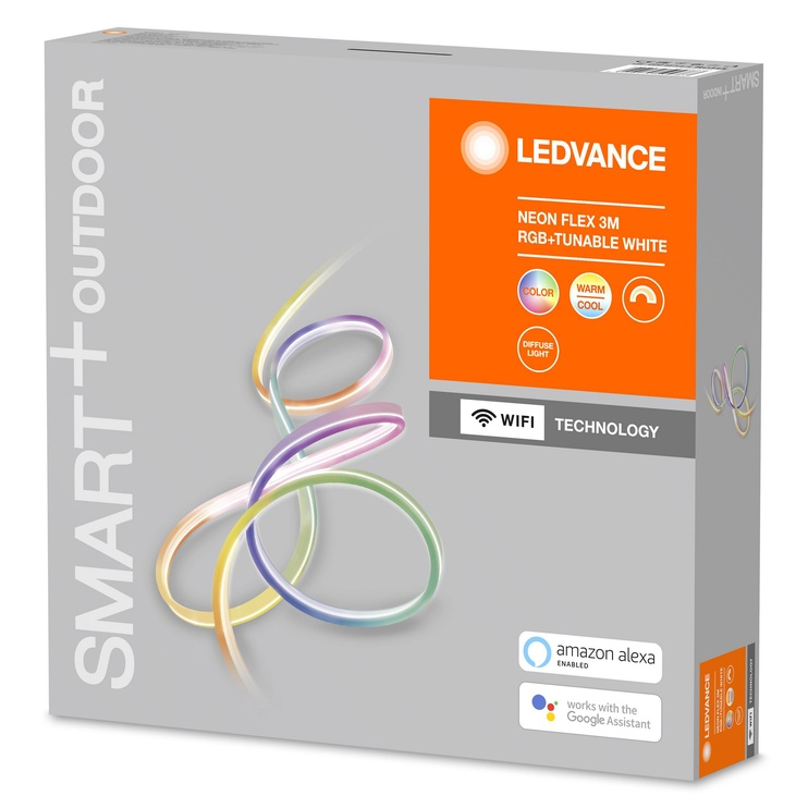 LED LENTE SMART WIFI NEON 3M RGBTW IP44