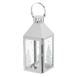 Polar Lanterns Polar Glitter Winter Lantern 30.5cm White