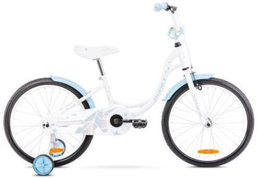 Bērnu velosipēds Romet Tom 10'' 20'' White/Blue 2021