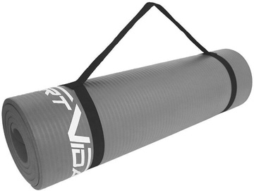 Fitnesa un jogas paklājs SportVida Exercise Mat 180x60x1cm Grey