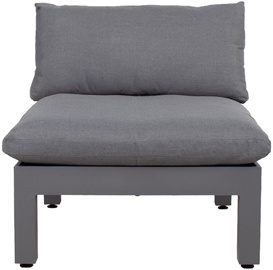 Home4you Modular Sofa Fluffy 93x93x66cm Gray