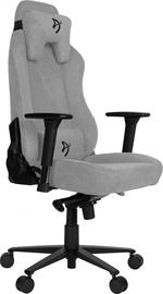Spēļu krēsls Arozzi Vernazza Soft Fabric Light Grey