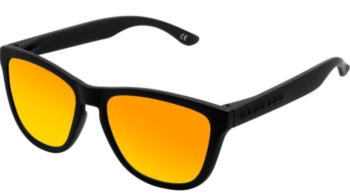 Saulesbrilles Hawkers One TR90 Carbon Black Daylight, 54 mm