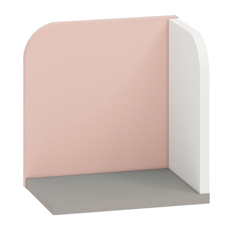 ML Meble IQ 16 Wall Shelf Pink