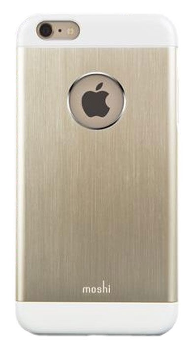 Moshi iGlaze Armour Snap-on Case For iPhone 6 Plus Satin Gold