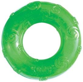 Kong Squeezz Ring Medium Green