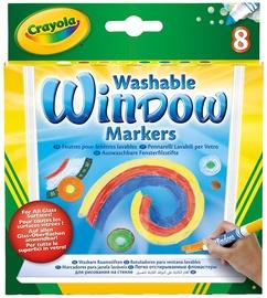 Crayola Washable Window Markers 8pcs