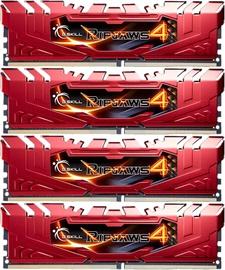 Operatīvā atmiņa (RAM) G.SKILL RipJaws 4 Red F4-2666C15Q-16GRR DDR4 16 GB CL15 2666 MHz